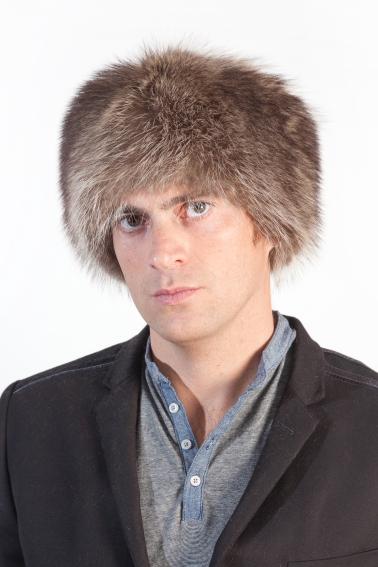 Real fur hats to be trendy men in winter