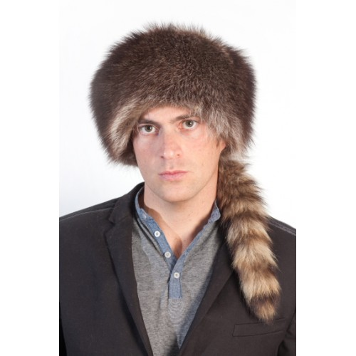 3d34a76afcd98 Coonskin cap. Click Image for Gallery