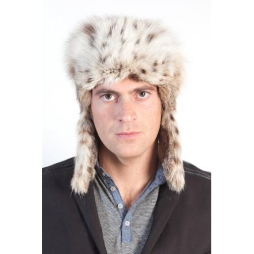 c71518ce3c6 Lynx Fur Hat Russian