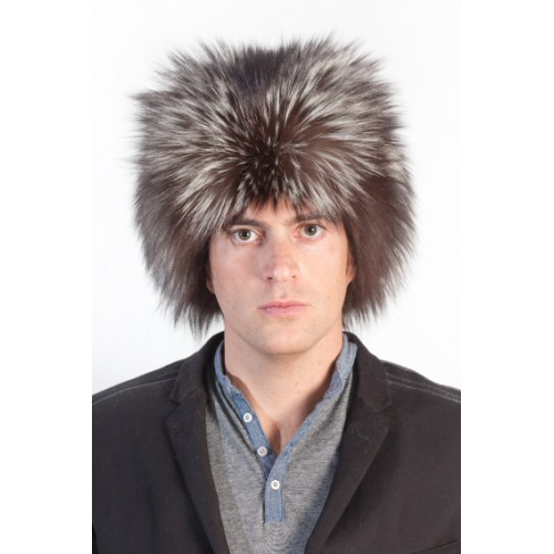 16f18cbece7196 Silver Fox Fur Hat | Best Collection of Men's Real Fur Hats & Accessories