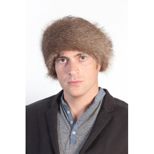 Raccoon Fur Headband | Real Fur Headband | Mens Fur Accessories